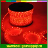 Wholesale Duralight 1/2'' 2 wire led rope flexible light multi-color 12/24voltage from china suppliers