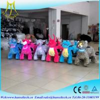 Wholesale Hansel christmas amusement rides shopping mall for kid 4 wheel kid ride electric animal scooter token operated machines from china suppliers