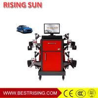 Buy cheap Car wheel alignment used automotive maintenance equipment with CCD sensor from wholesalers