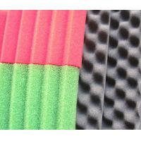 Wholesale PU Sound Absorbing Foam with Concave Convex Honeycomb Curved Surface Structure from china suppliers