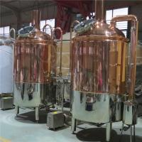 Wholesale 300L craft beer equipment with red copper brewhouse from china suppliers