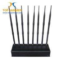 Wholesale 8 Antennas 20w Mobile Signal Jammer Block GSM 3G 4G LTE Wifi GPS Lojack VHF UHF High Gain from china suppliers