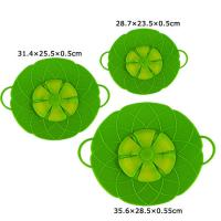 Quality 3 Pack Silicone Boil Over Spill Stopper Splatter Guard Pot Pan Lid Cover for sale