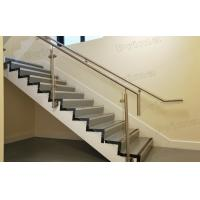 Wholesale Side Mounted Stainless Steel Post Glass Railing For Staircase Railing from china suppliers