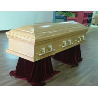 Wholesale Cremation Casket With Swing Bars , Full Couch USA Style Eco Coffin Cardboard from china suppliers