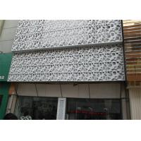 Wholesale Interior / Exterior Facade Aluminum Decorative Panels Carved Weather Resistance from china suppliers