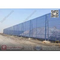 Quality HESLY Wind & Dust Suppressing Barrier System for Coal Storage Yard | China Factory for sale