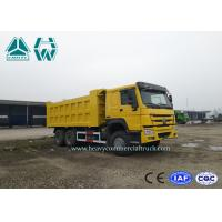 Wholesale 6 X 4 HOWO Front Lift 25 Ton Heavy Duty Mining Dump Truck 10 Wheels 371hp from china suppliers