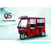Buy cheap 60V 1000W Electric Open Passenger Motor Tricycle 2780*950*1720 Mm Passenger Auto Rickshaw from wholesalers