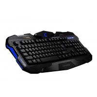 Wholesale Customized Ergonomic Membrane Gaming Keyboard , gaming pc keyboards With CE  FCC ROHS from china suppliers