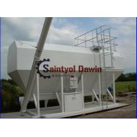 China Horizontal Cement Silo with Slot Screw Conveyor on Sale on sale