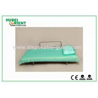 Wholesale Light Weight Anti Static Blue Disposable Bed Sheets 30gsm to 40gsm , 60x180cm from china suppliers