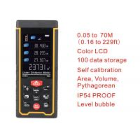 Wholesale Rechargeable 70m Color display high-precision Laser rangefinder distance meter trena Laser tape measure Diastimeter from china suppliers