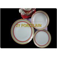 Wholesale New Bone Porcelain 12 Piece Coupe Dinner Sets Stackable Smooth Surface from china suppliers