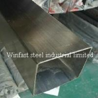 Wholesale OD 6mm - 660mm Stainless Steel Welded Pipe Square Cold Drawing 300 Series from china suppliers
