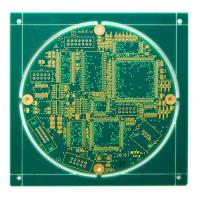 Wholesale 1 - 24 Layer Multilayer Rigid PCB High TG FR4 HAL Aluminum Based PCB With Silkscreen from china suppliers