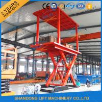 Wholesale 3T+3T Double Deck Hydraulic Scissor Car Garage Lift For Basement With CE SGS TUV from china suppliers