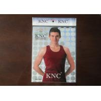 Wholesale OPP Garment Header Card Packaging Bags Customized Printed Heat Cut from china suppliers