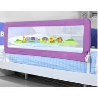 Wholesale Purple Safety First Bed Rails For Children , Woven Net Kids Bed Rails from china suppliers