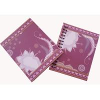 Wholesale OEM 17 * 21 cm size hardcover 70g * 100p inner page Spiral Bound Notepad from china suppliers