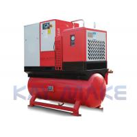 Quality Lubricated Portable Air Compressor With Air Tank Ground Installation Type for sale