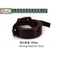 Wholesale 1KG C shaped lead dive weights with buckle belt for scuba diving from china suppliers