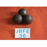 Wholesale D30MM 62-63hrc Grinding Resistant Solid Steel Ball for Mine Machinery , Grinding Media Steel Balls from china suppliers