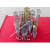 Quality 304 / 304L / 316 / 316L Stainless Steel Wire Mesh Filter With Cold Galvanized for sale