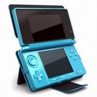 Wholesale PU Leather Case for Nintendo 3DS Console, with Four Hooks from china suppliers
