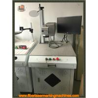 Quality Stainless Steel Air Cooling Fiber Laser Marking Machine 220V / 50Hz / 5A-10A for sale