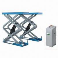 Buy cheap Low Profile Siccor Car Lift, Mechanical Safeties with Air-operated Engagement and Release from wholesalers