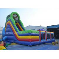Quality Ocean Theme Inflatable Bouncer Slide Giant Whale Shaped With Bouncy 8M for sale