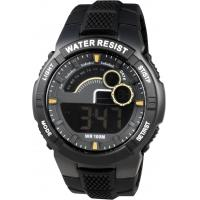 Wholesale Plastic Germany Gents Digital Watch , Anti-Static Men Round Sporty Watches from china suppliers