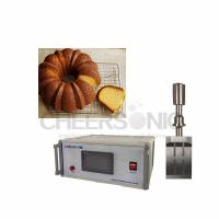 Wholesale High Power Ultrasonic Food Cutter For Yeast Cakes , Commercial Cake Cutter from china suppliers
