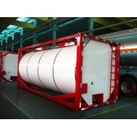Wholesale ISO 20ft Insulated Liquid Tank Container Cylinder or Square Shaped from china suppliers