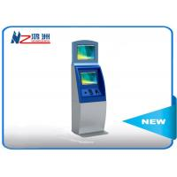 Wholesale Multifunction interactive information kiosk lobby dual Touch screen kiosk from china suppliers