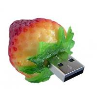 Wholesale Strawberry 4GB, 8GB, 16GB, 32GB Food USB Flash Drive with hot plug and play ( MY-UF012) from china suppliers
