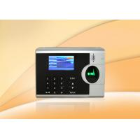 Wholesale Employee Fingerprint Time Clocks For Small Business , 3 Inch TFT Color Screen from china suppliers