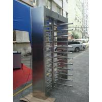 Wholesale 304 SUS Stainless steel Full Height Turnstile High Speed Passing Quick Operating Time from china suppliers