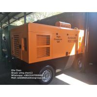 Wholesale Portable Diesel Engine Driven Screw Air Compressor 550CFM 13 Bar 188Psi Trailer Type from china suppliers