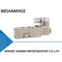 """Quality 5 Way 2 Position Pneumatic Solenoid Valve 1 / 4 """" 1 / 8 """" YPC Type Sanmin for sale"""