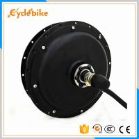 Buy cheap High Efficiency 48v 1500w Electric Bicycle Motor 530rpm/min from wholesalers
