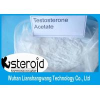 Wholesale Testosterone Anabolic Steroid 99% Purity Testosterone Acetate CAS 1045-69-8  for Muscle Building from china suppliers