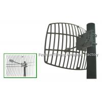 Buy cheap Weather Proof Parabolic Grid Antenna 27 dBi Wifi Antenna Vertical Polarization from wholesalers