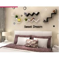 Wholesale English letters decoration Personalized Wooden Name Plaques Word Letters 3D Wall sticker Door Art Wedding Photo Props from china suppliers