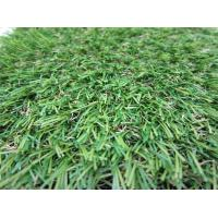 Wholesale Outdoor Lawn Artificial Grass Carpet Anti-UV PE Yarn , 25MM Height from china suppliers