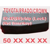 Wholesale Toyota / Prado / Crown 4D60 Duplicable Chip 50xxx Car Key Transponder Chip from china suppliers