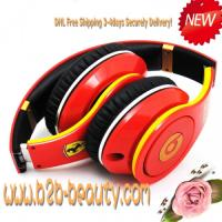 Wholesale Monster Beats By Dre Lamborghini Edition Headphones--RED from china suppliers
