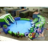 Wholesale Lightweight Inflatable Water Toys For Kids / Colored Inflatable Aqua Park from china suppliers