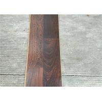 Wholesale Dark Laminate flooring  3-strips with Double quick locking glueless floating Floors from china suppliers